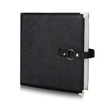 STORAGE BINDER: Black, Hook+Loop System, Beads, Findings, Jewelry, Paper Crafts, Stickers