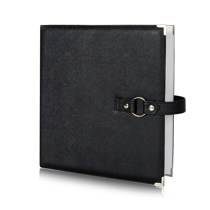 Binder - Storage Solution for Craft Supplies and Jewelry.  Black