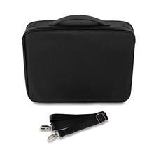 Zip Binder -  Storage for Craft Supplies and Jewelry. Black