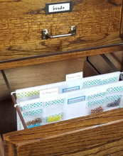 File Cabinet Storage Panels for Craft Supplies