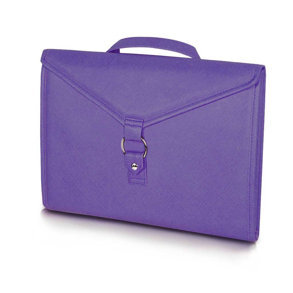 Storage Envelope for Craft Supplies and Jewelry. Purple