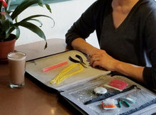 Bead Board Grande- A Work Surface for Making Jewelry for Travel & Home. Best Day Ever
