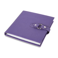 SMALL PROJECT TRAVEL BOOK : Purple. Beads, findings, Jewelry, Scrapbook Stamps and Stickers . . .