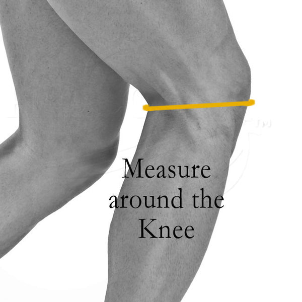 Measure for Prolotex Knee Bands