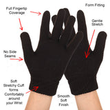 Features of the Full Fingertip Stretchy Knit Gloves