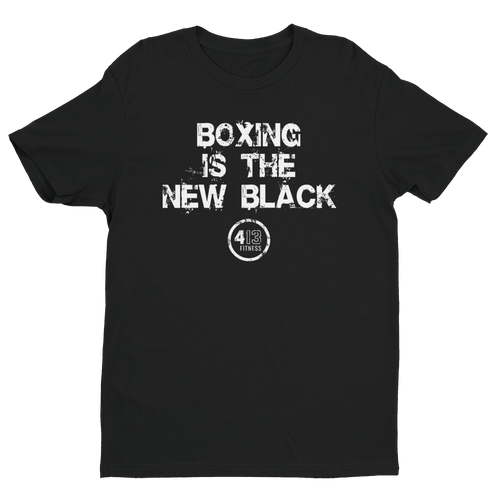 BOXING IS THE NEW BLACK - Short Sleeve T-shirt