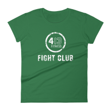 4:13 FIGHT CLUB / FIGHTER - Women's cut short sleeve t-shirt