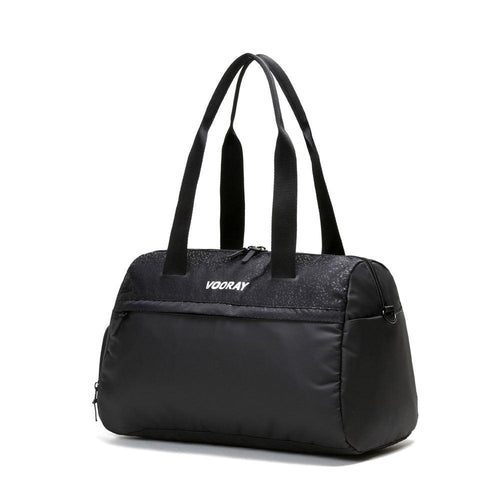 VOORAY TRAINER GYM DUFFEL BLACK FOIL