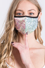 MASKS BLING FOIL SUPER SPARKLY