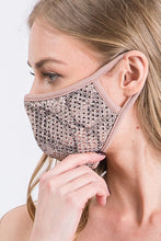 MASKS LUXURY ROSE GOLD BLING