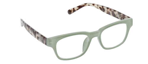 PEEPERS READING GLASSES VINTAGE VIBES-GREEN & GREY TORTOISE