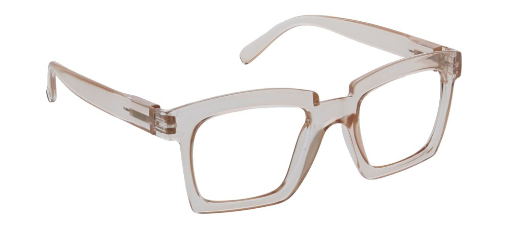 PEEPERS READING GLASSES STANDING OVATION-TAN
