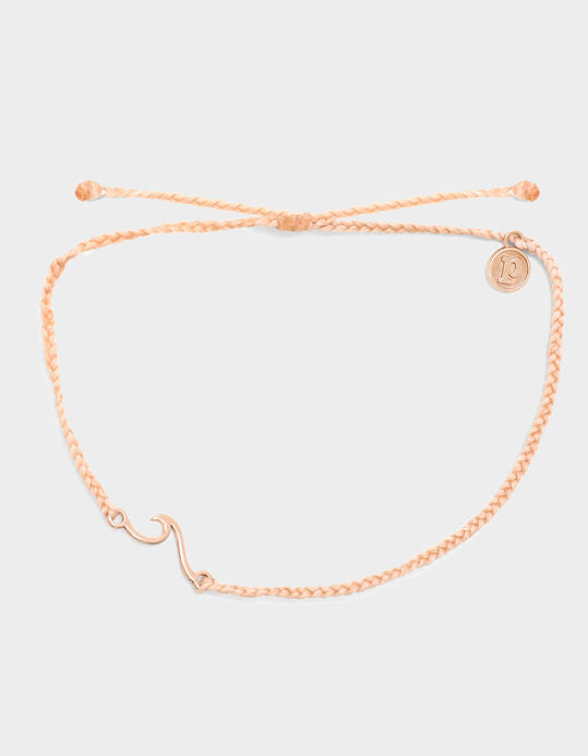 PURA VIDA SHORELINE ROSE GOLD ANKLET NEW!