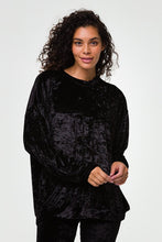 ONZIE BOYFRIEND SWEATSHIRT BLACK VELVET NEW!