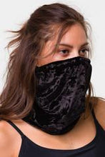 MASKS ONZIE MASK COVER ALL GATOR STYLE - BLACK VELVET