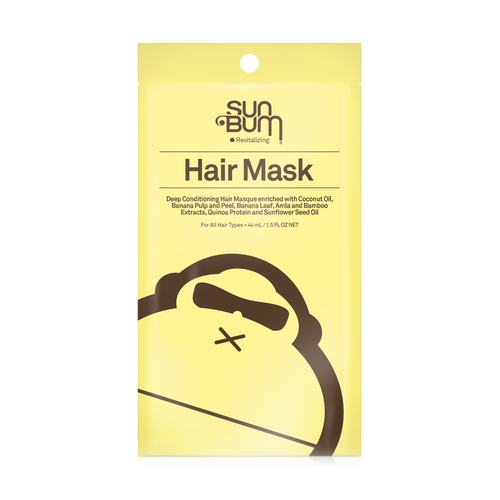 SUN BUM REVITALIZING DEEP CONDITIONING HAIR MASK PACKET