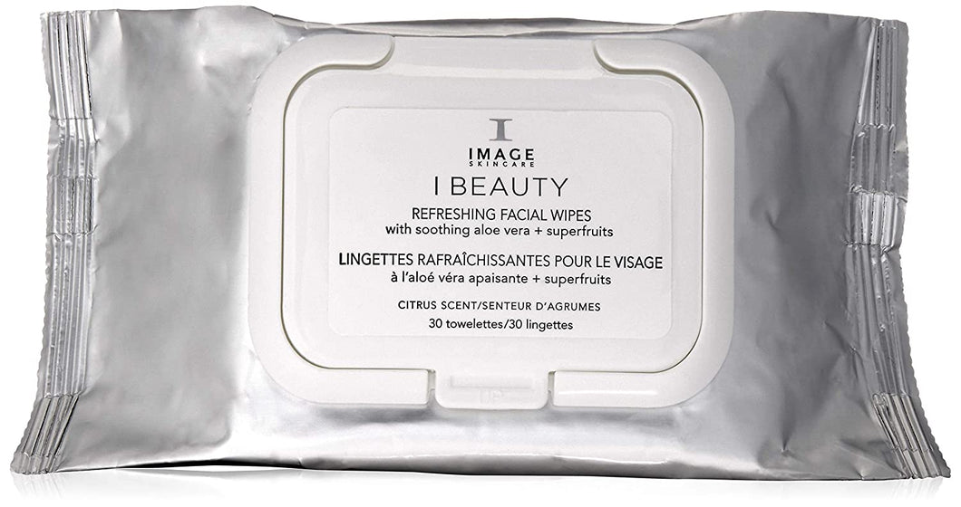 IMAGE SKINCARE REFRESHING FACIAL WIPES-30 TOWELETTES