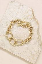 ETTIKA SIMPLE CHAIN BRACELET WITH TOGGLE