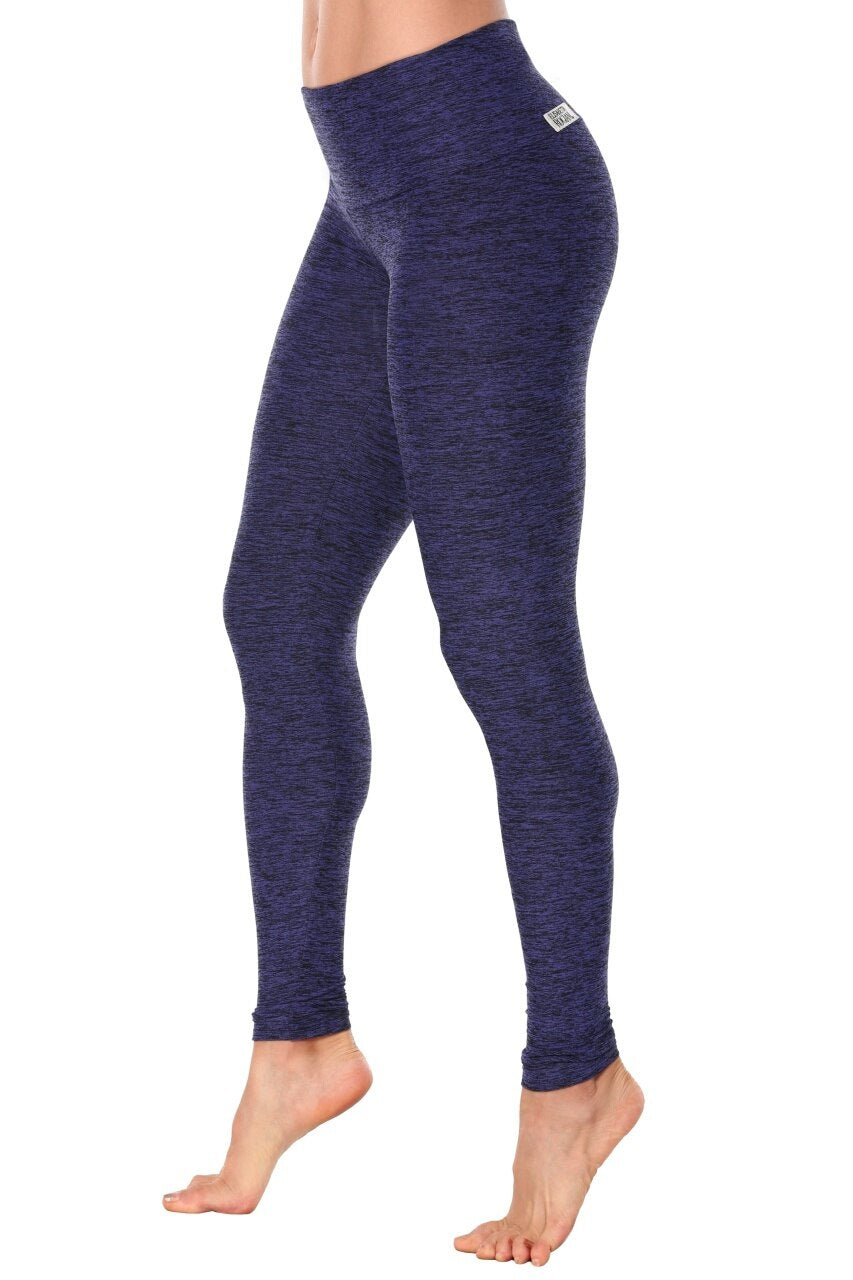 ELISABETTA ROGIANI 7/8 BUTTER LEGGING DENIM BLUE