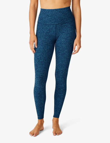 BEYOND YOGA CAUGHT IN THE MIDI HIGH WAISTED LEGGING - IBIZA BLUE/BLACK