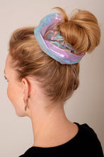 AVENUE ZOE GIANT HOLOGRAM HAIR SCRUNCHIE