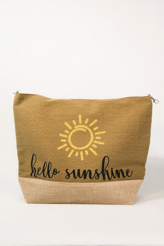 URBANISTA HELLO SUNSHINE TOTE BAG