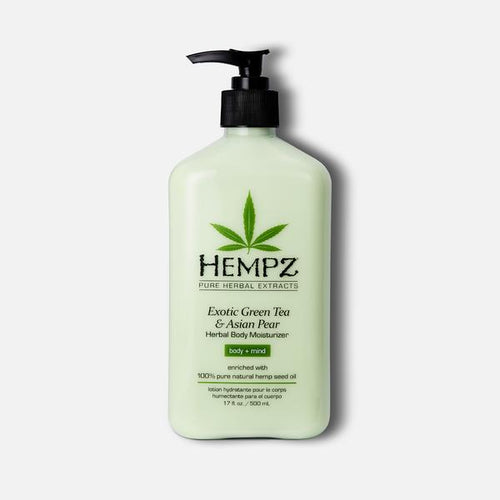 HEMPZ BODY MOISTURIZER EXOTIC GREEN TEA AND ASIAN PEAR