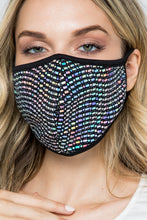 MASKS BLING MATRIX DISCO SILVER SUPER SPARKLY!