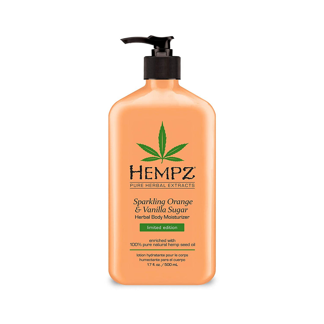HEMPZ *LIMITED EDITION* BODY MOISTURIZER- SPARKLING ORANGE & VANILLA SUGAR