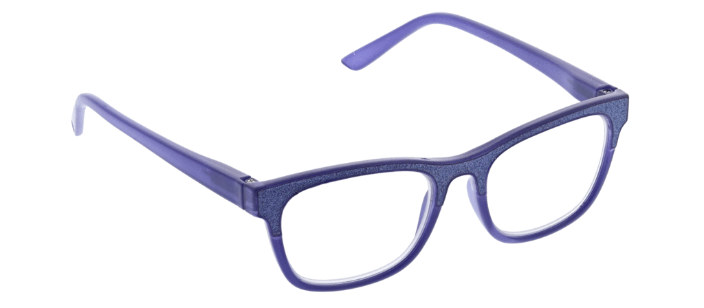 PEEPERS READING GLASSES FOXY MAMA-PURPLE SPARKLE