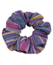 SOUL FLOWER STRIPED HIPPIE SCRUNCHIES-MULTI COLORS