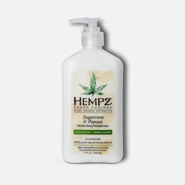 HEMPZ BODY MOISTURIZER- SUGARCANE & PAPAYA