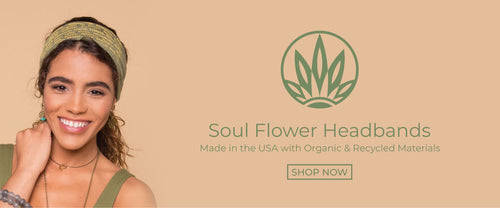 SOUL FLOWER RECYCLED BASIC BOHO HEADBANDS
