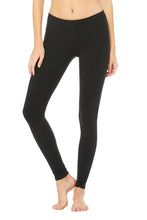 ALO AIRBRUSH LEGGING BLACK