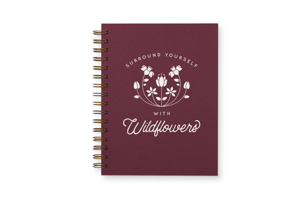RUFF HOUSE PRINT SHOP WILDFLOWERS JOURNAL: LINED NOTEBOOK