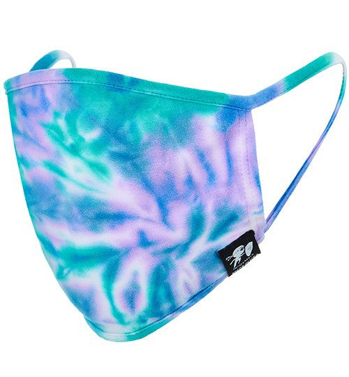 MASKS TIE DYE MASK BLUE LAGOON