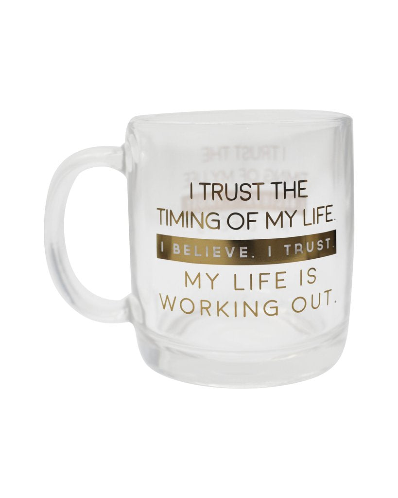 YOUR JOYOLOGIST LIFE WORKS OUT GLASS MUG