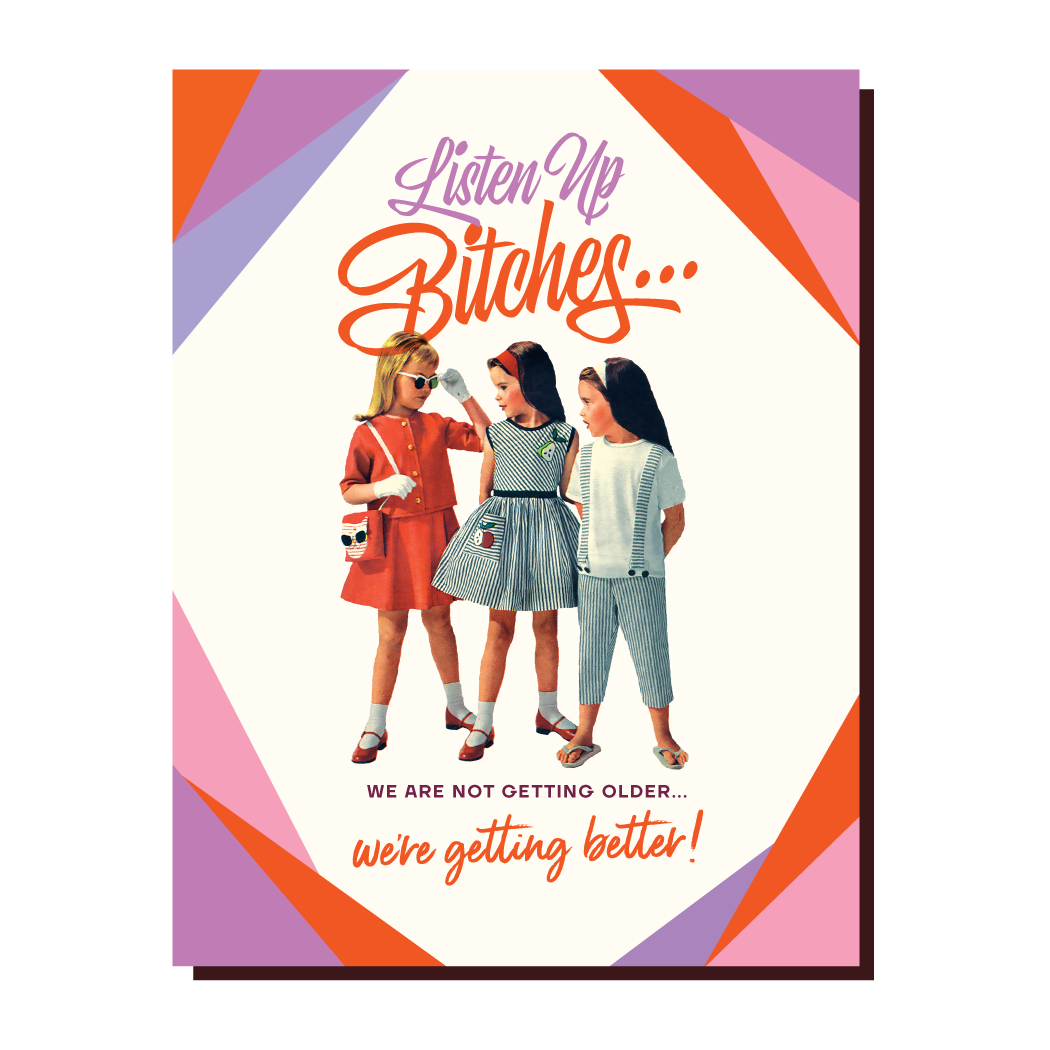 OFFENSIVE AND DELIGHTFUL GREETING CARD KD20