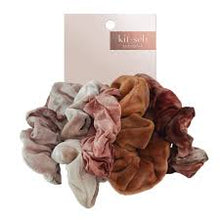 KITSCH RUST TIE DYE SCRUNCHIES- 5 PACK