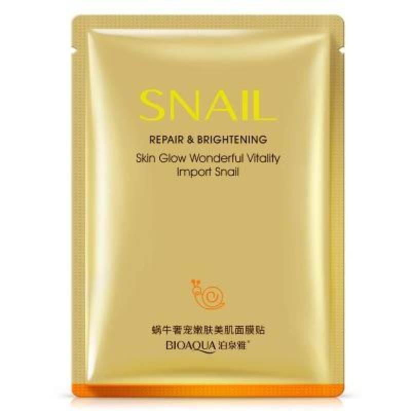 BIOAQUA REPAIR & BRIGHTENING SNAIL SHEET MASK