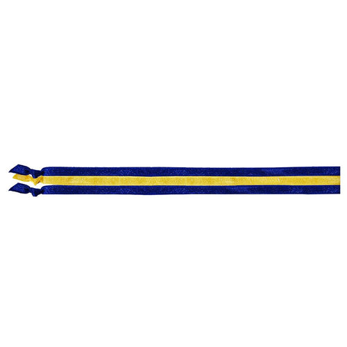 EMI JAY SPIRIT HEADBANDS 3 PACK- BLUE & YELLOW