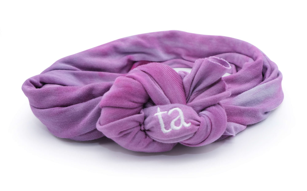 Blushed Lilac Headwrap