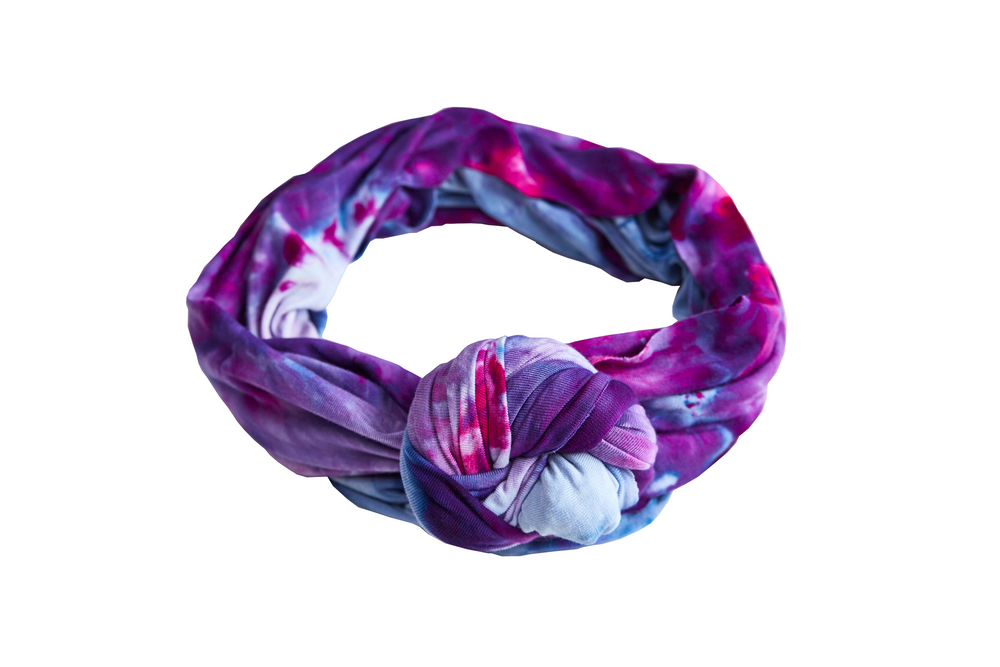 Load image into Gallery viewer, Purple Reign Headwrap