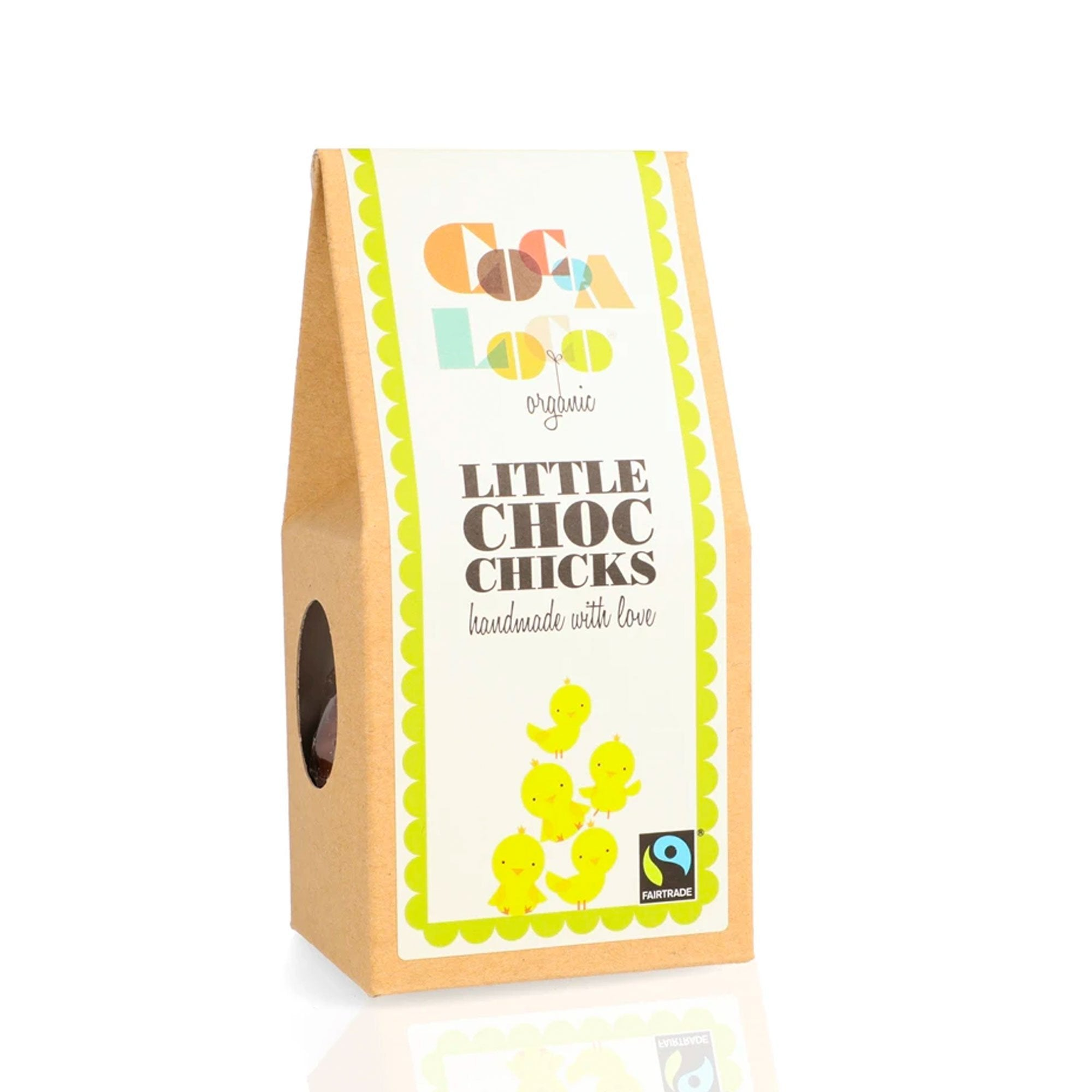 Cocoa Loco | Little Milk Chocolate Chicks | BoxTree | Send a Gift