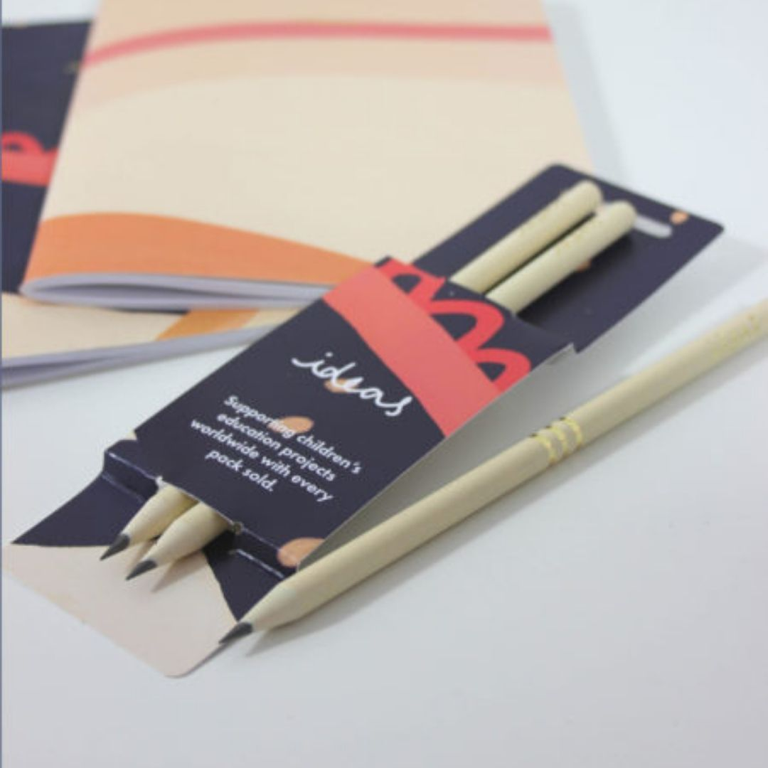 Cream Pencil Pack - Gift - BoxTree