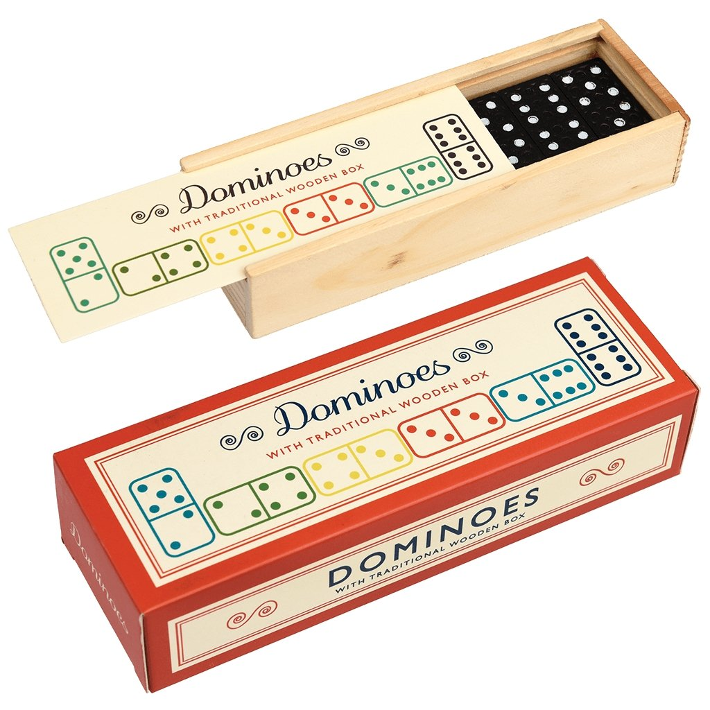 Dominoes Game & Box - Gift - BoxTree