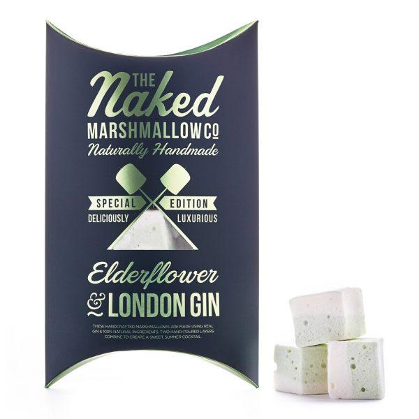 Elderflower & London Gin Marshmallows - Gift - BoxTree