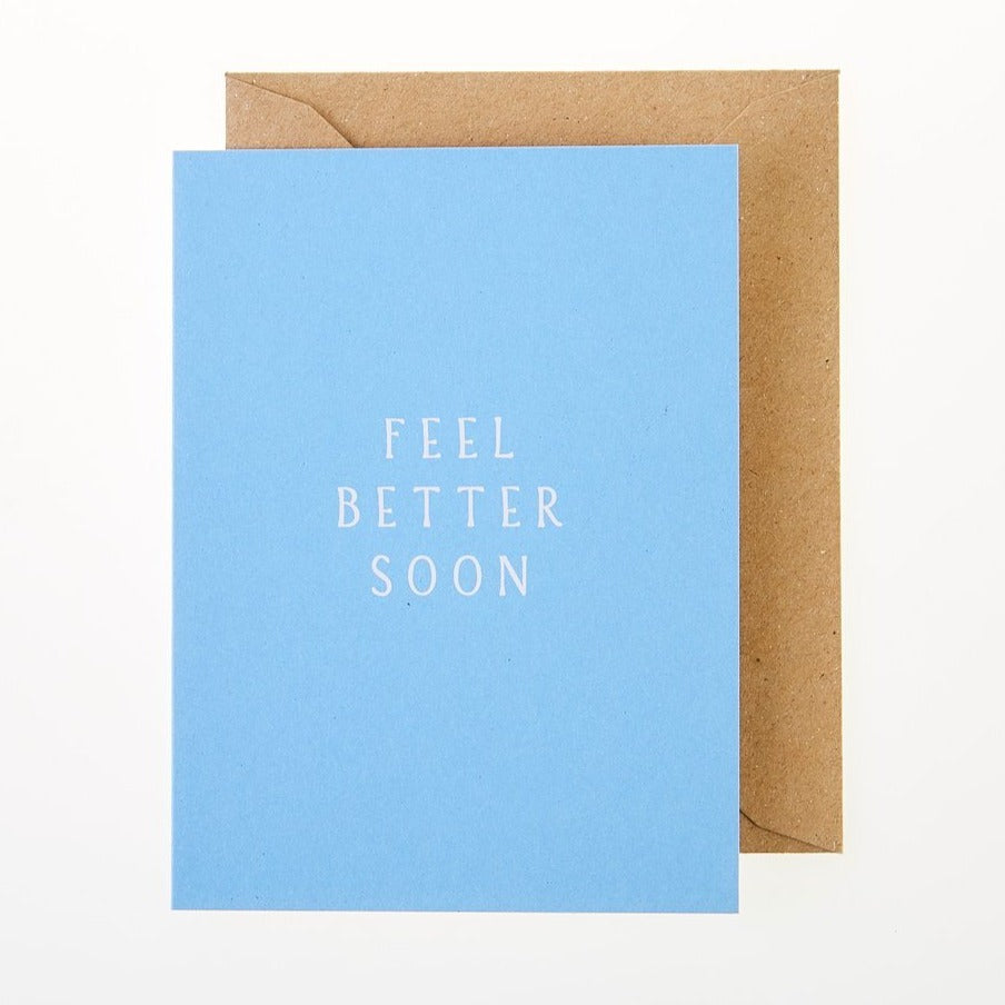 Feel Better Soon Card - Greeting Card - BoxTree