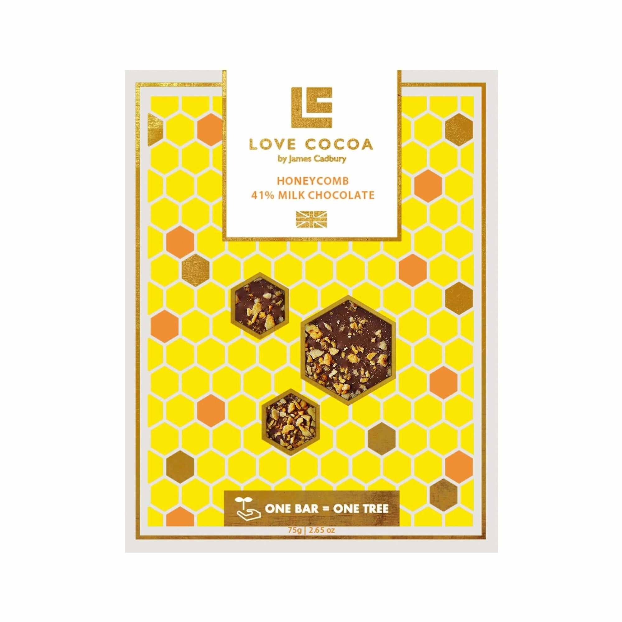 Honeycomb Organic Milk Chocolate - Gift - BoxTree