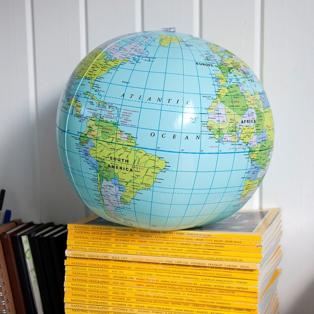 BoxTree Kids | Inflatable World Globe | BoxTree | Send a Gift